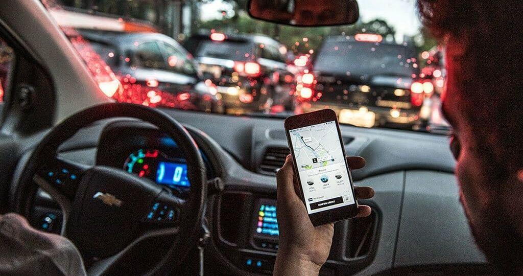Aplicativo; Transporte; Trânsito; App; UberFoto: Germano Lüders03/12/2018